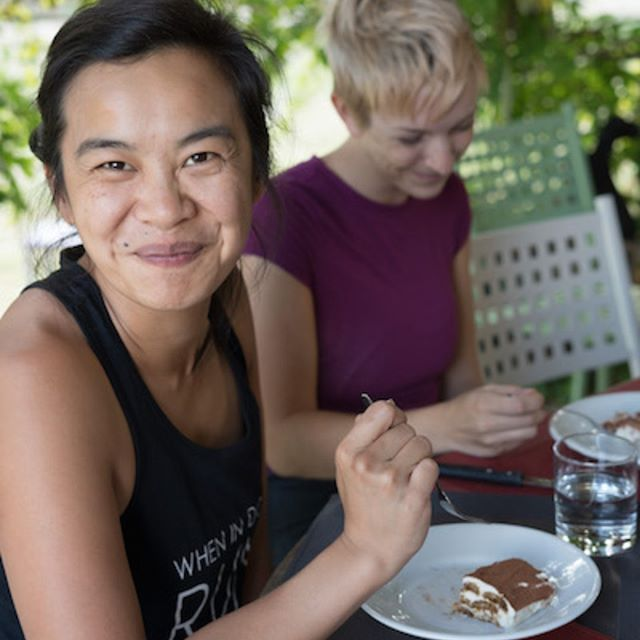 #fbf - Lakshmi Rising 200Hr Yoga Teacher Training students in Tuscany, Italy enjoying tiramisu.  Why not join us this year from September 7 - 28, 2019?  Featuring @gaiagourmetcuisine, beautiful accommodations in a luxury villa and delightful cultural excursions.  Link in bio for more information and to sign up today! . . . . . #meditation #yogaretreat #yogaretreatitaly #meditate #namaste #ayurveda #mindbodysoul #longevity #highvibrations #yogaglow #sacred #ritual #yogi #yogini #yogalove  #teachertraining #yogateacher  #yogateachertraining  #yogateachers #italy #tuscany #yogateachertrainingitaly #yogainstructortrainingitaly