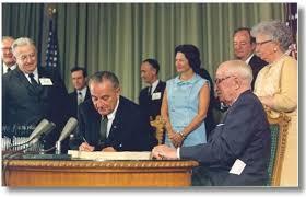 Johnson Signing Medicare