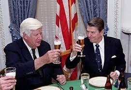 Reagan and Tip O'Neill