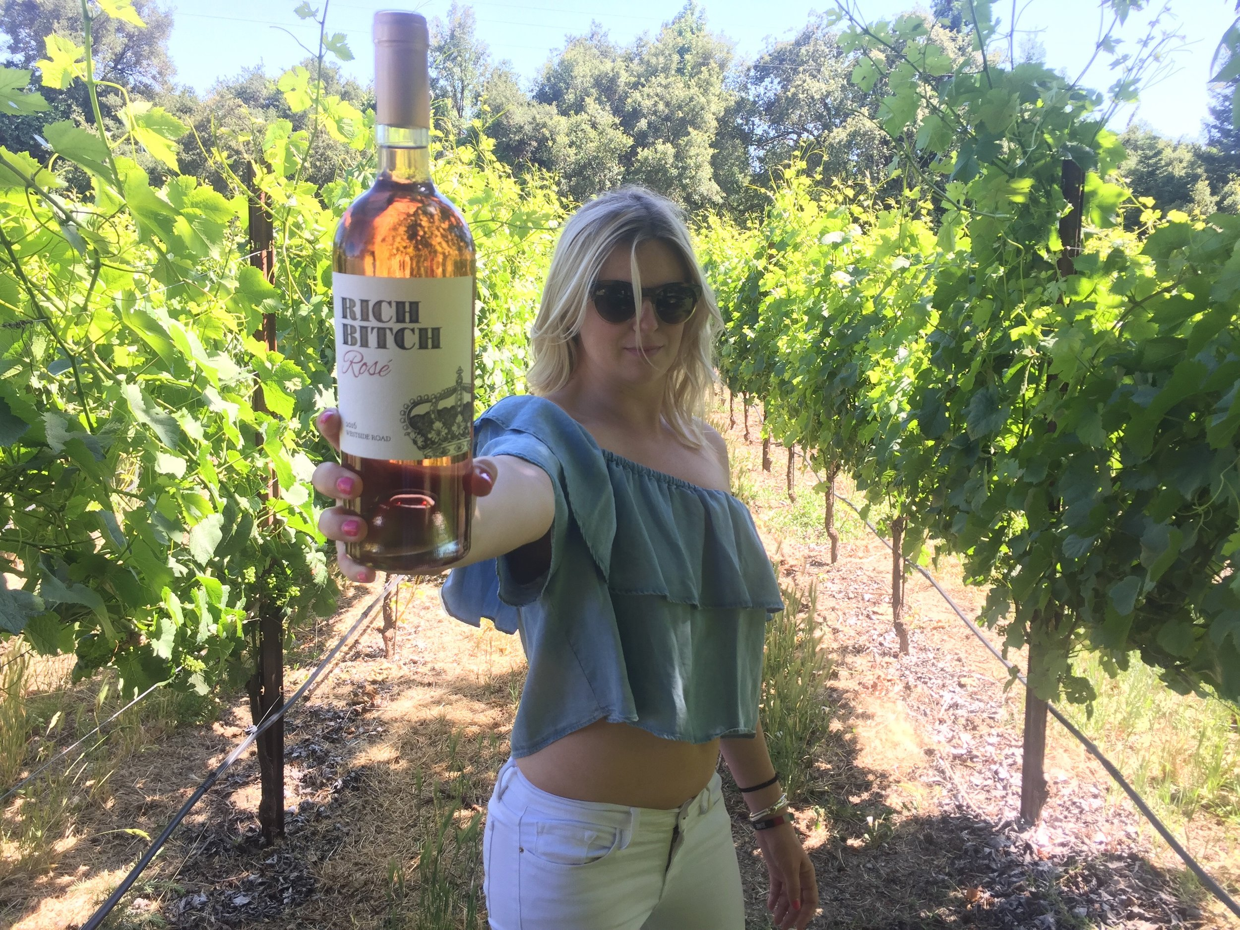 Celebrating the release of our 2016 Rich Bitch Rosé