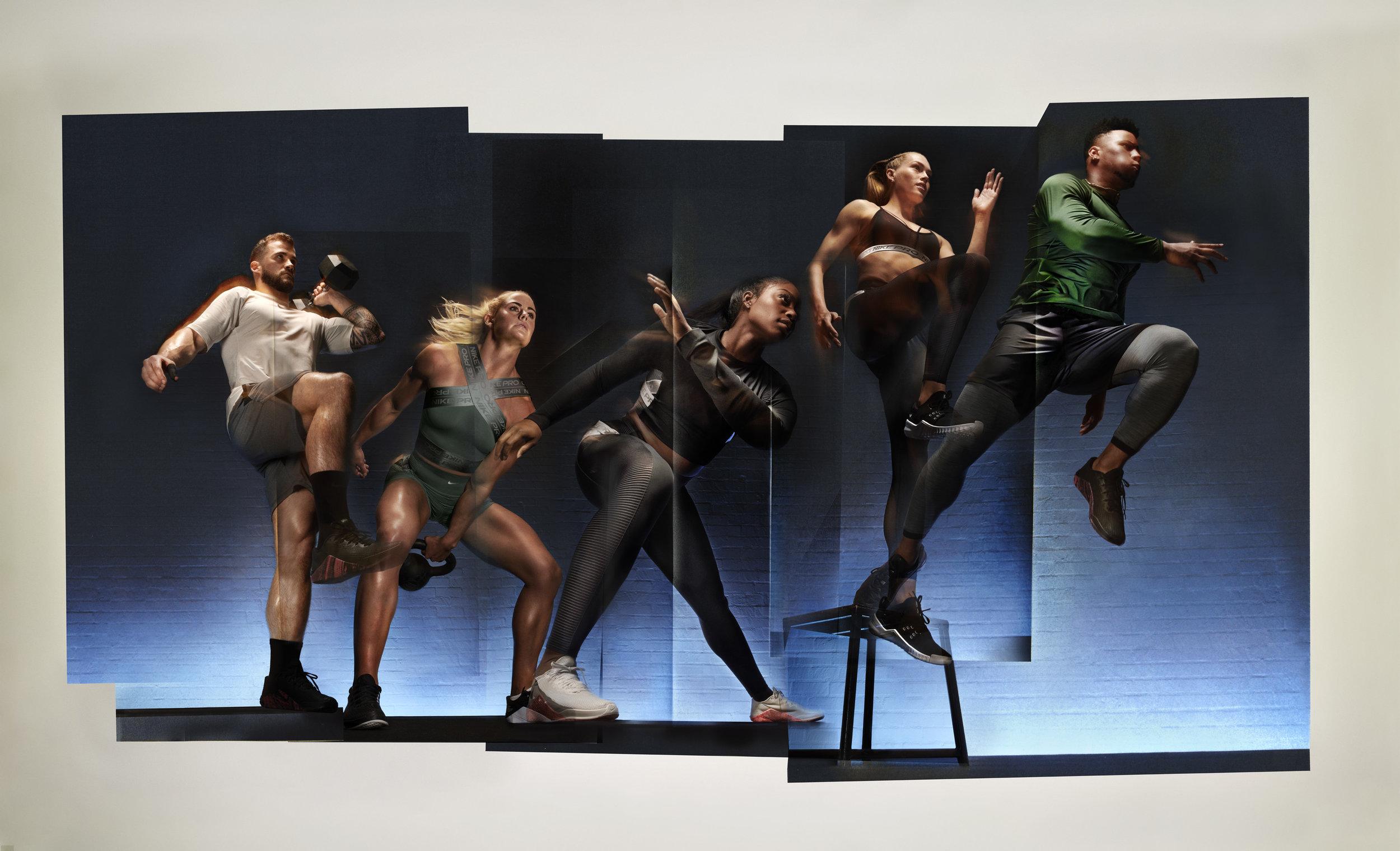 Nike Pro Campaign