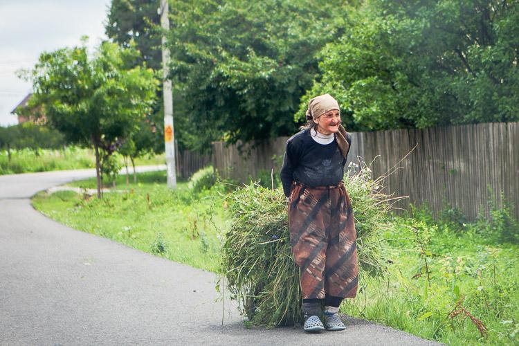 © Barbro Nelly, Rumänsk kvinna
