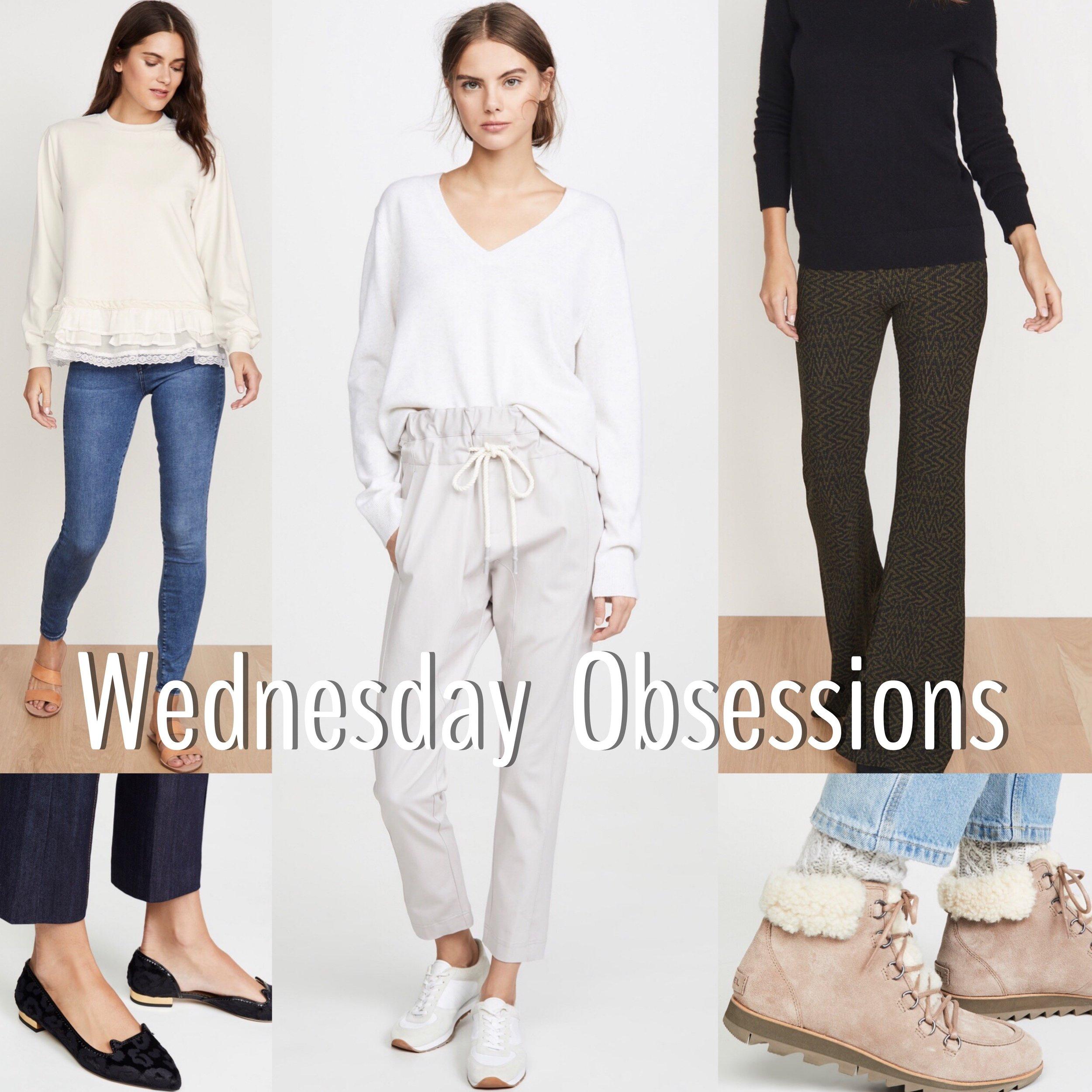 #1: Shirt; cluusa. Shoes; charlotteolympia.  #2: Pants; bassike. Shoes; shopbop. #3: Pants; beaufille. Shoes; sorelfootwear