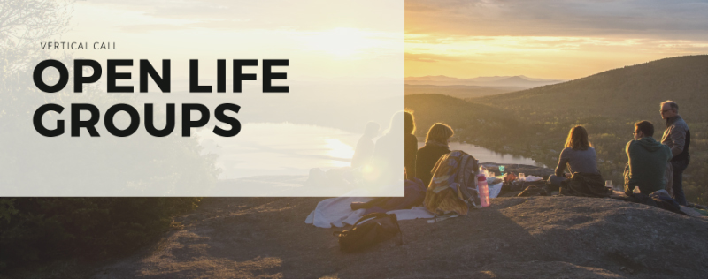 In addition to regular home groups, we also have several community driven Open Life Groups available to join. For more information, please check out our    Community and Open Life Group page.