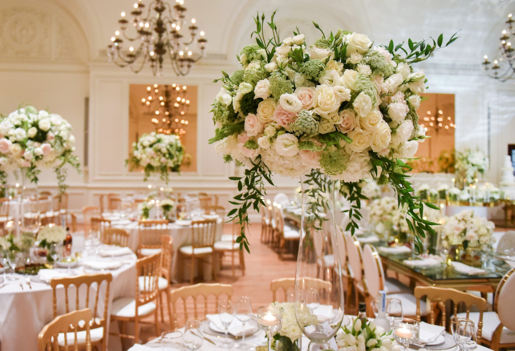 Christine & Andrew's Floral Wonderland - Words cannot do this elegant wedding the justice it deserves. The floral arrangements by Dolce Fiore Los Angeles really helped create the whimsy feeling and overall wonderment at every turn for Christine and Andrew's wedding and reception.