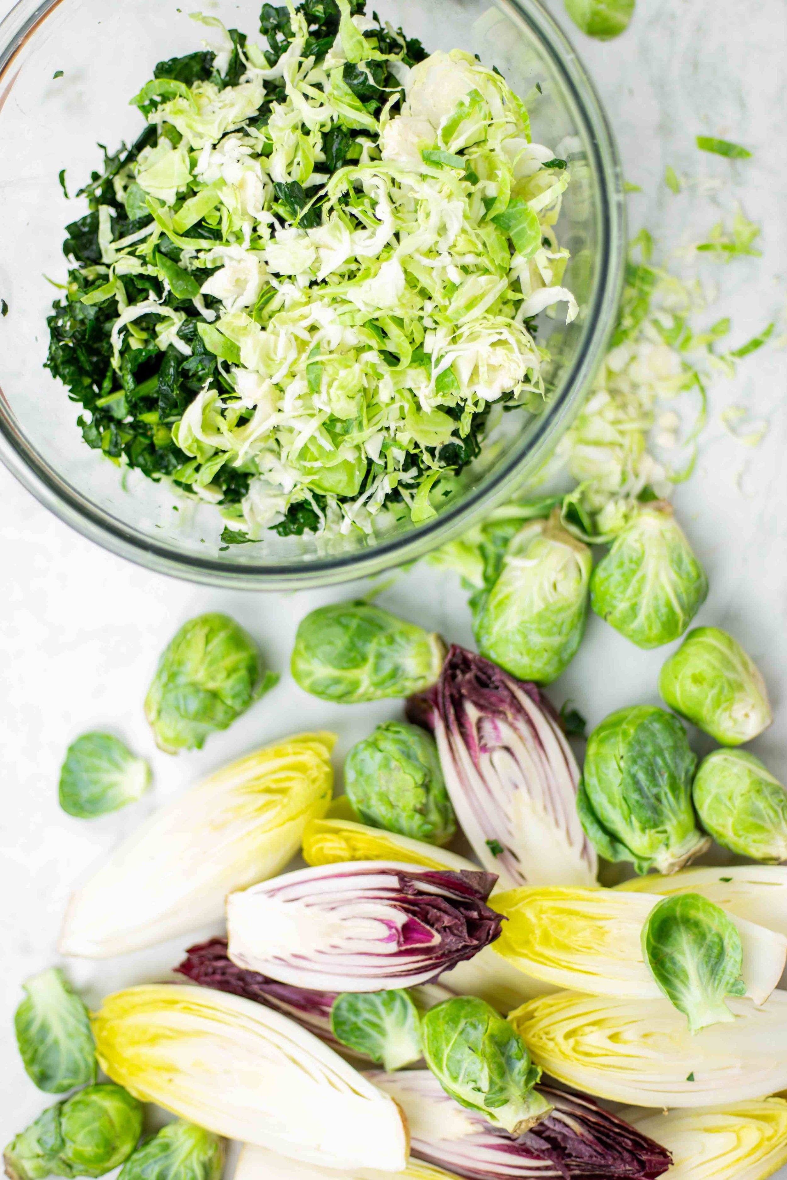 Prebiotic Foods | Health Benefits of Brussels Sprouts & Shaved Brussels Sprouts Salad Recipe