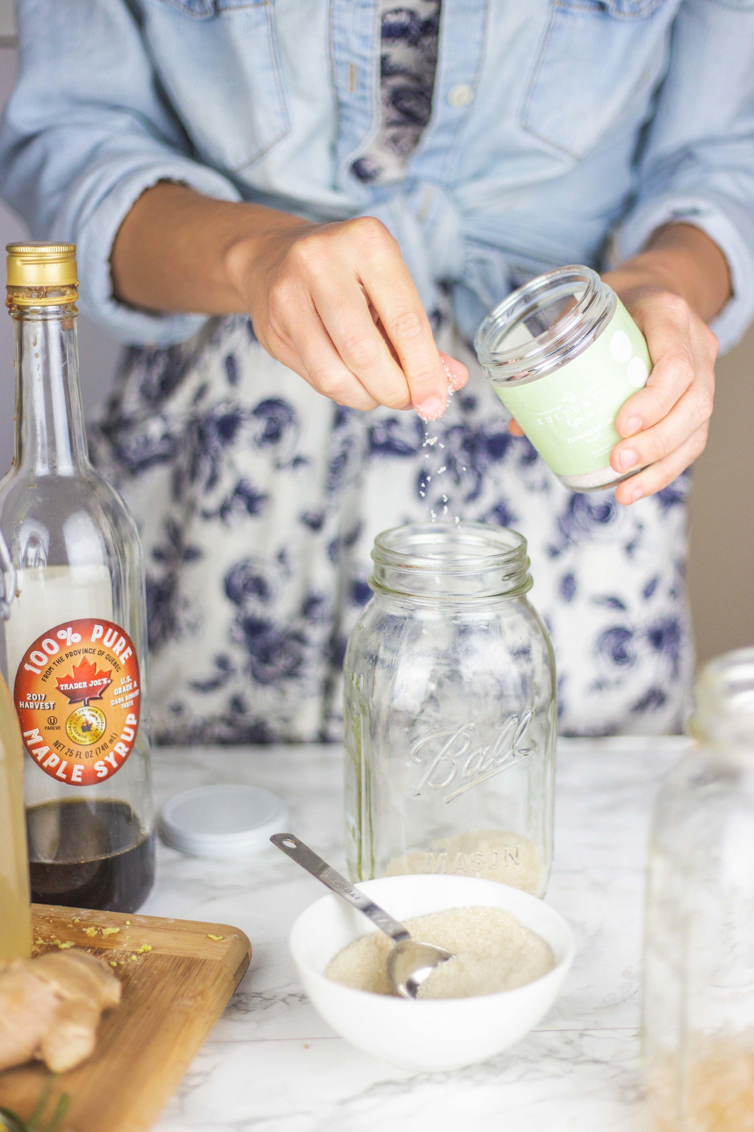 Water Kefir Recipe | How to Brew Probiotic Water Kefir | The Benefits of Water Kefir