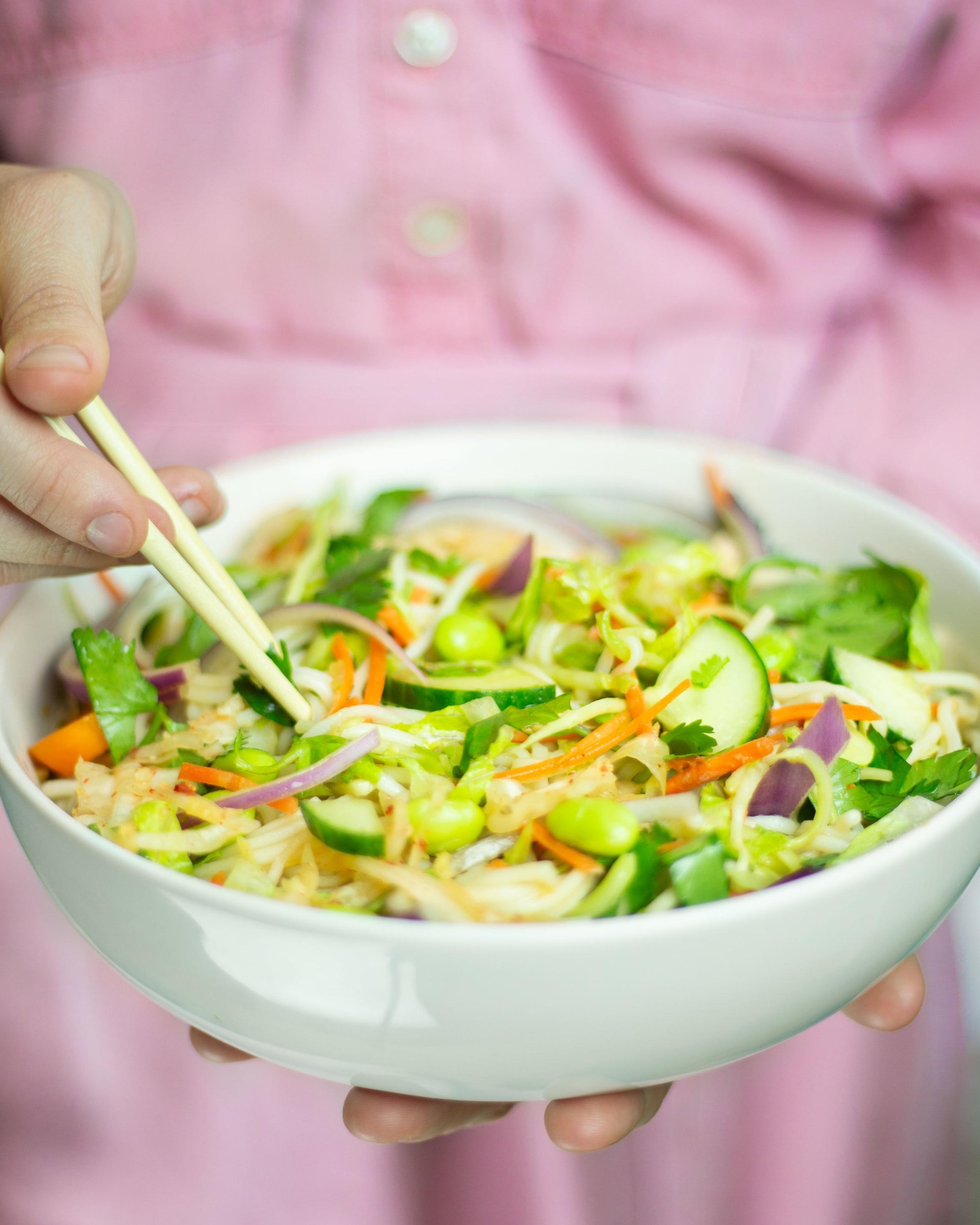 Vietnamese Inspired Noodle Salad