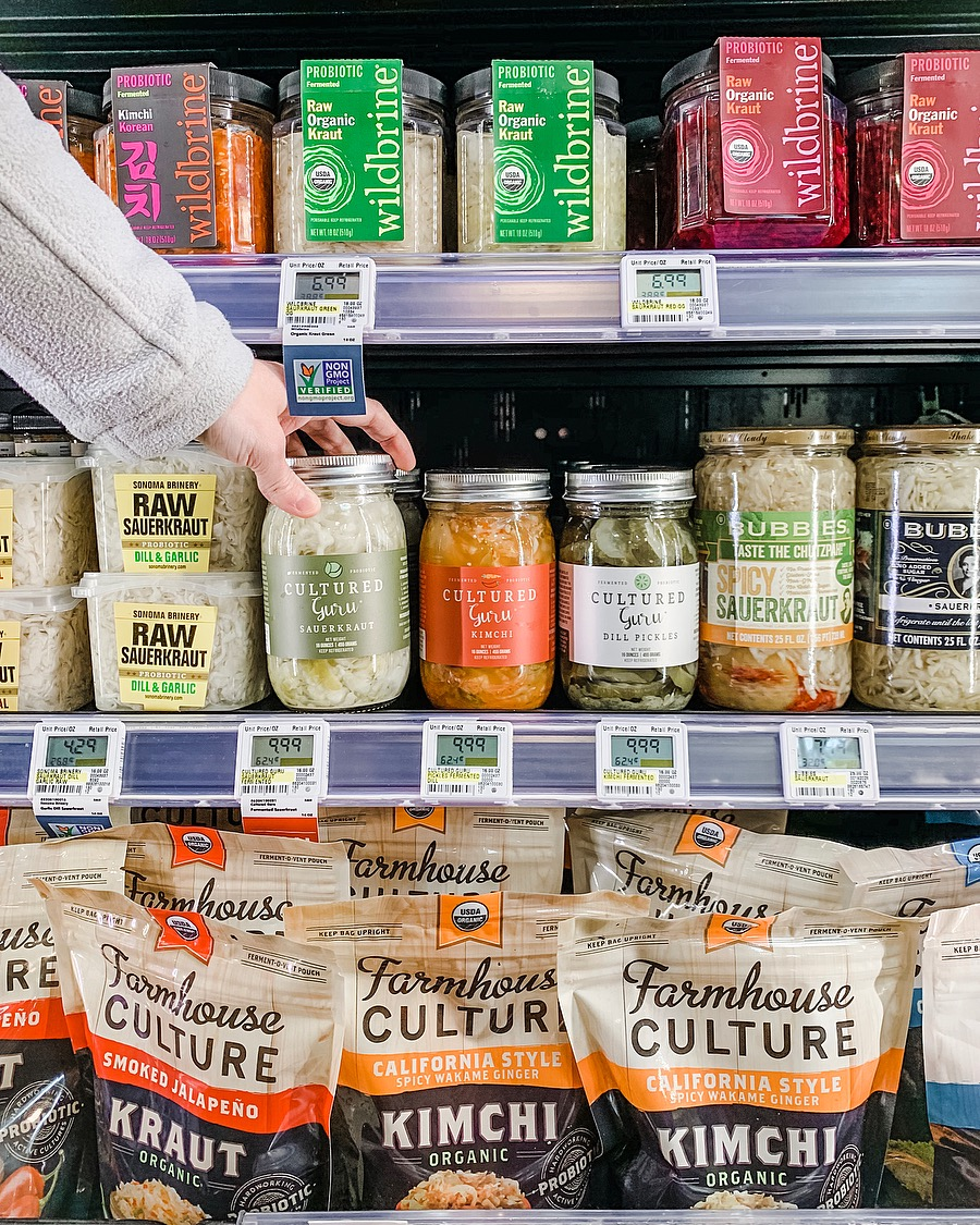 Cultured Guru in Whole Foods Market