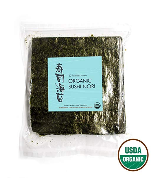 Nori Sheets for Sushi Wraps