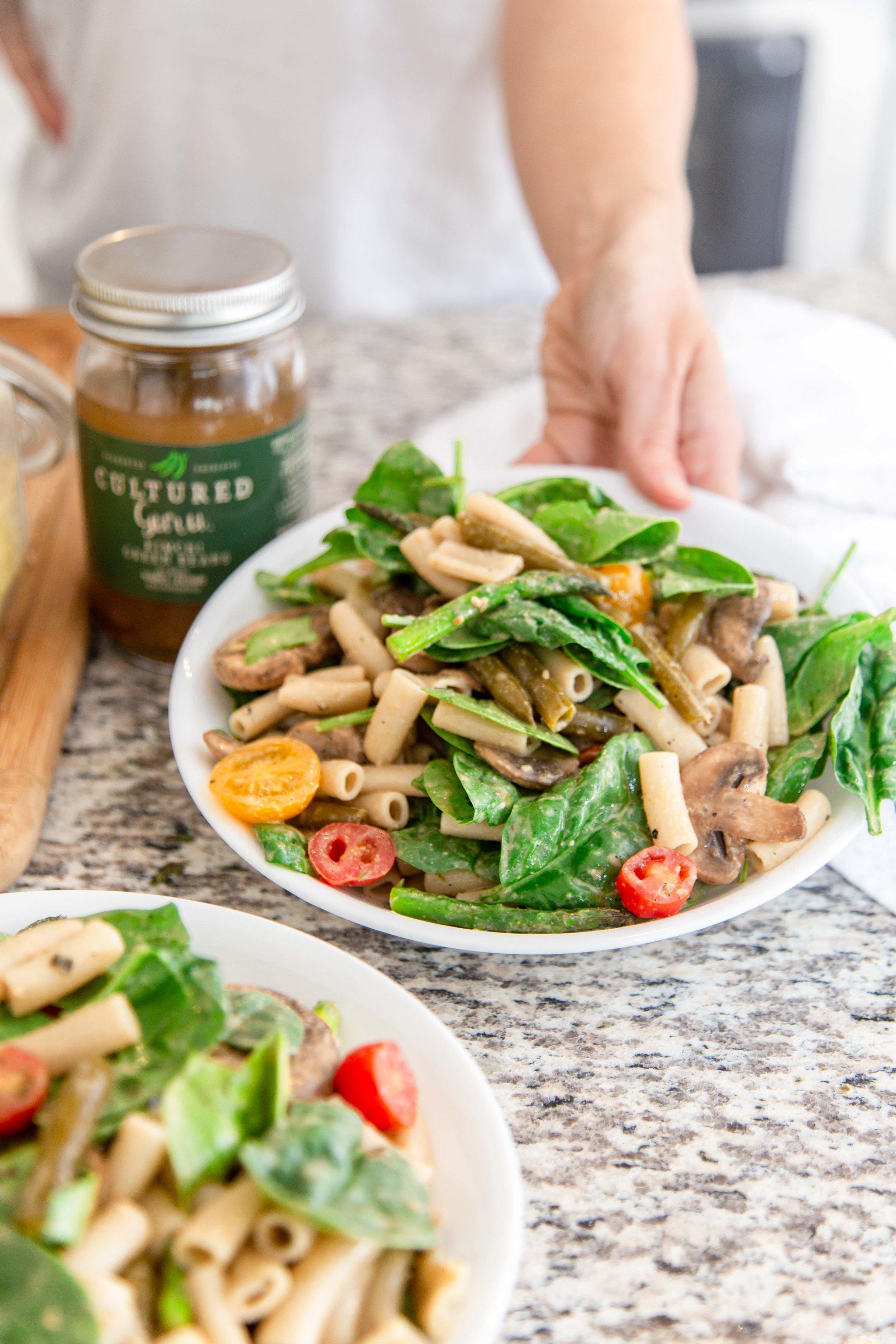Easy Vegan Pasta Salad