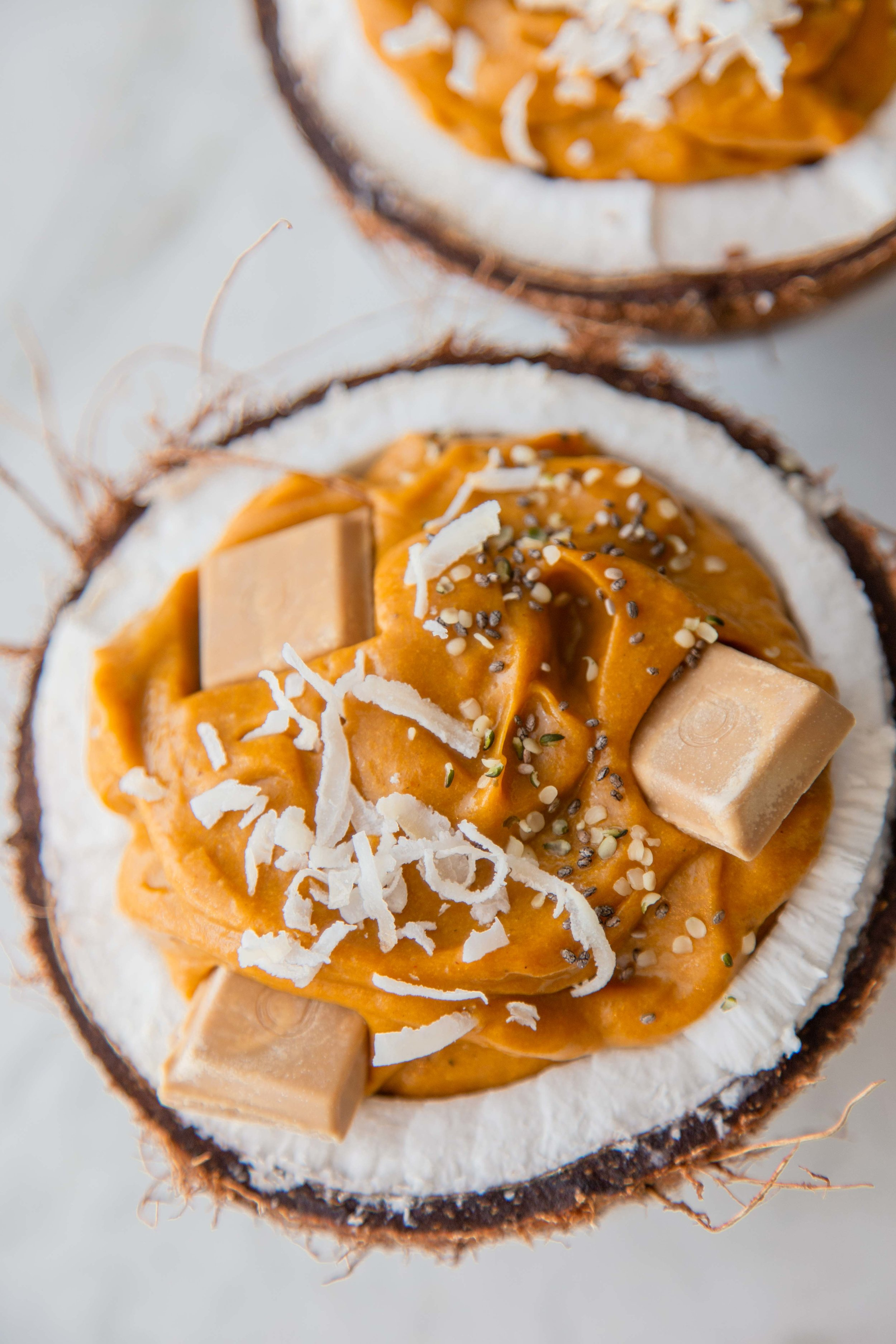 Nourishing Cinnamon Pumpkin Smoothie Bowls