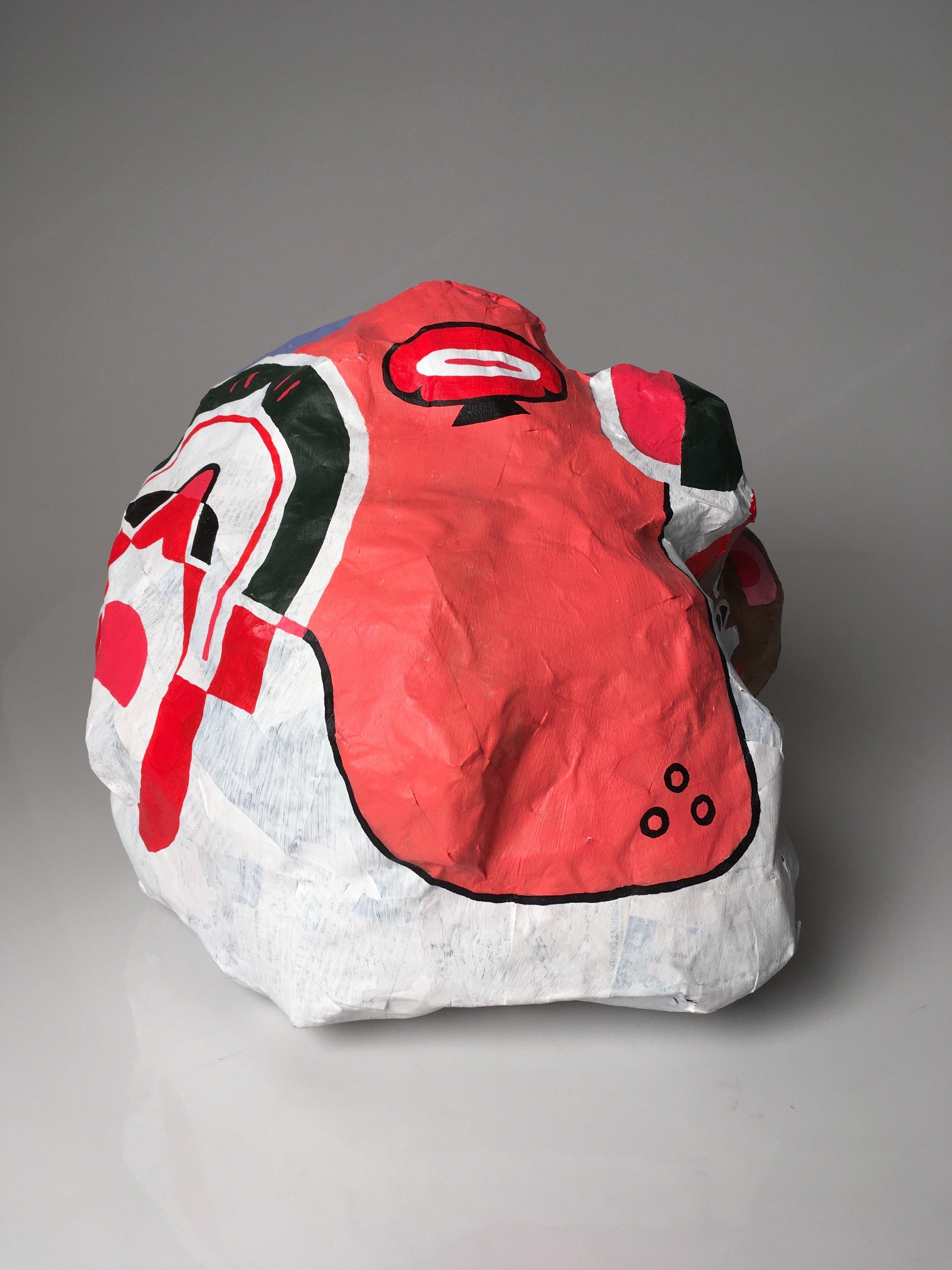 Head with Helmet –2018