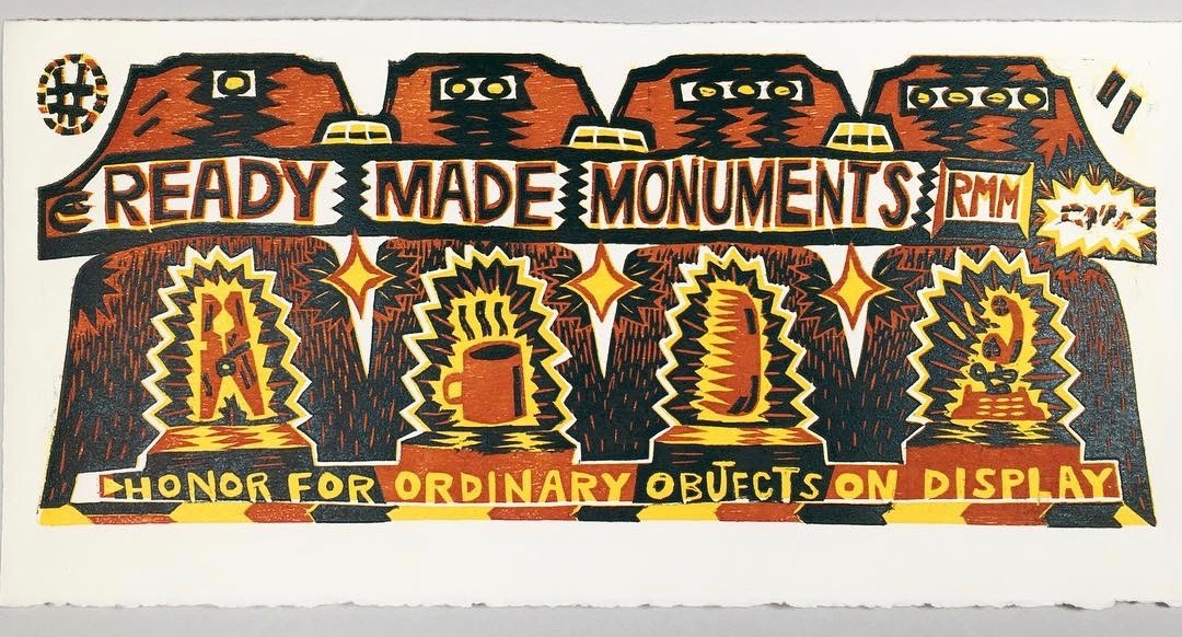 Ready Made Monuments Number 1 - 2019