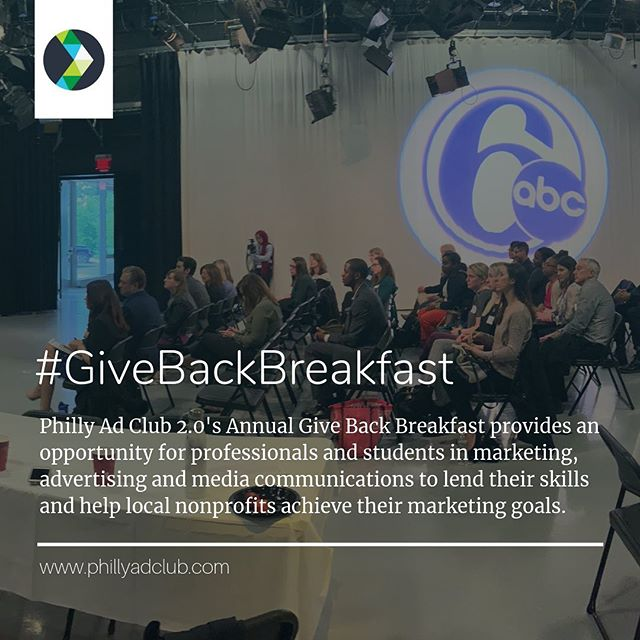 🤝Thank you @phillyadclub and @6abcactionnews for hosting the #GiveBackBreakfast each year. This event is the perfect opportunity to learn, teach, brainstorm and give back to local #nonprofits truly deserving of our community's support. Teamwork makes the dream work! 🙌 @gotrphilly @collegepossible @phillyunknown @mumsandmutts⠀ .⠀ .⠀ .⠀ ✅Looking to build a strategic partnership between a business and nonprofit? Let's talk about #CauseMarketing 📧kwright@rightcauseconsulting.com ⠀ .⠀ .⠀ .⠀ #adclub2pt0 #phillyadclub #6abc #RightCauseLLC #DoGood #SocialImpact #StrategicPartnerships #CSR #SocEnt #ConsciousCapitalism #Sustainability #MarComm #ThinkTank #creative #branding #marketing #media #pr #publicrelations #adweek #adclubphilly #adcp #adage #igers #digital #skillsbasedvolunteering
