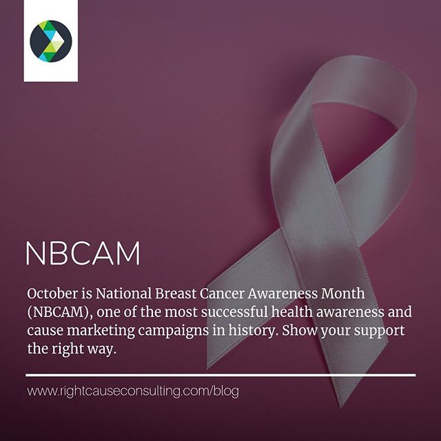 🙌In honor of the 35th anniversary of #NBCAM, @rightcause is addressing the history of pink ribbon marketing and offering tips for companies (and consumers) to support breast cancer awareness the right way.⠀ ⠀ 📄Read all about it at www.rightcauseconsulting.com/blog⠀ ⠀ #RightCauseLLC #CauseMarketing #DoGood #SocialImpact #StrategicPartnerships #CSR #SocEnt #ConsciousCapitalism #ConsciousConsumerism #BrandPurpose #Blog #NewBlogPost #Pinkwashing #BreastCancerAwareness #PinkRibbon #ThinkBeforeYouPink