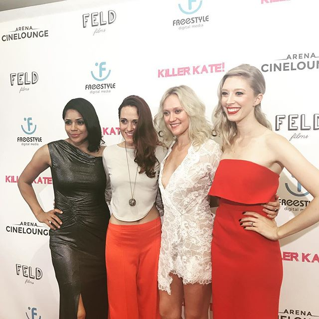 The lovely ladies of @killerkatemovie ! 💪