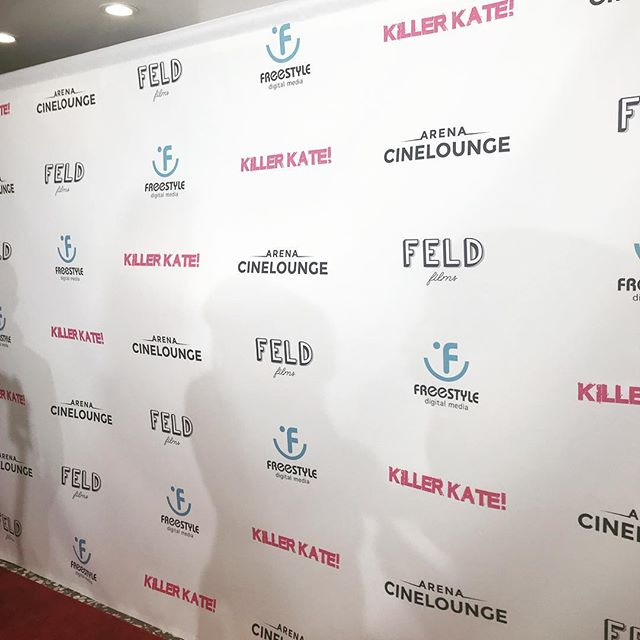 Check out our Instagram Story for full highlights from the Red Carpet Premiere of @killerkatemovie !! 🎥