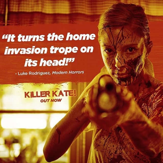 Killer Kate is the perfect, throwback thriller to watch this #Halloween 🎃 Shoutout to @modernhorrors for the great review!  Get it on @iTunes (Link in bio)
