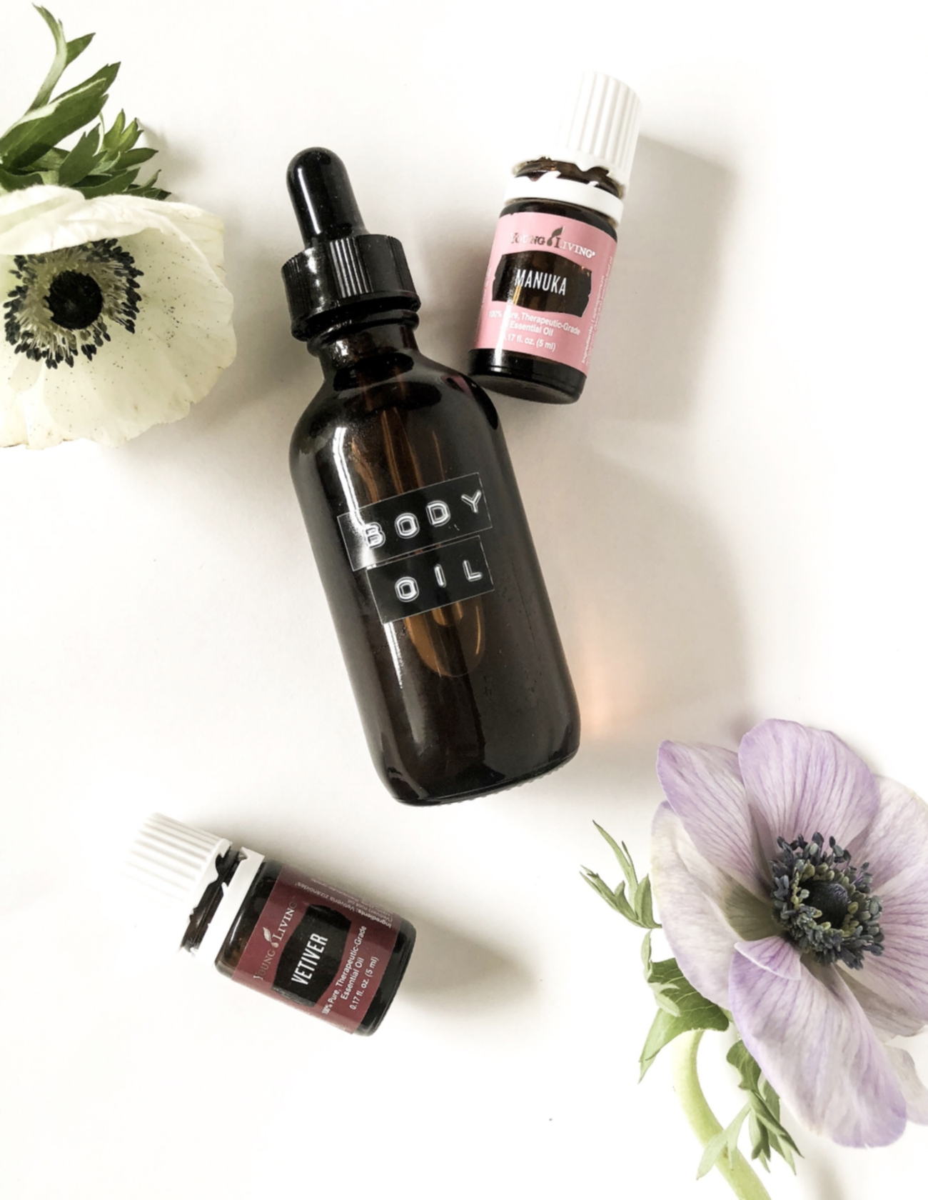 Vetiver & Manuka Body Oil -