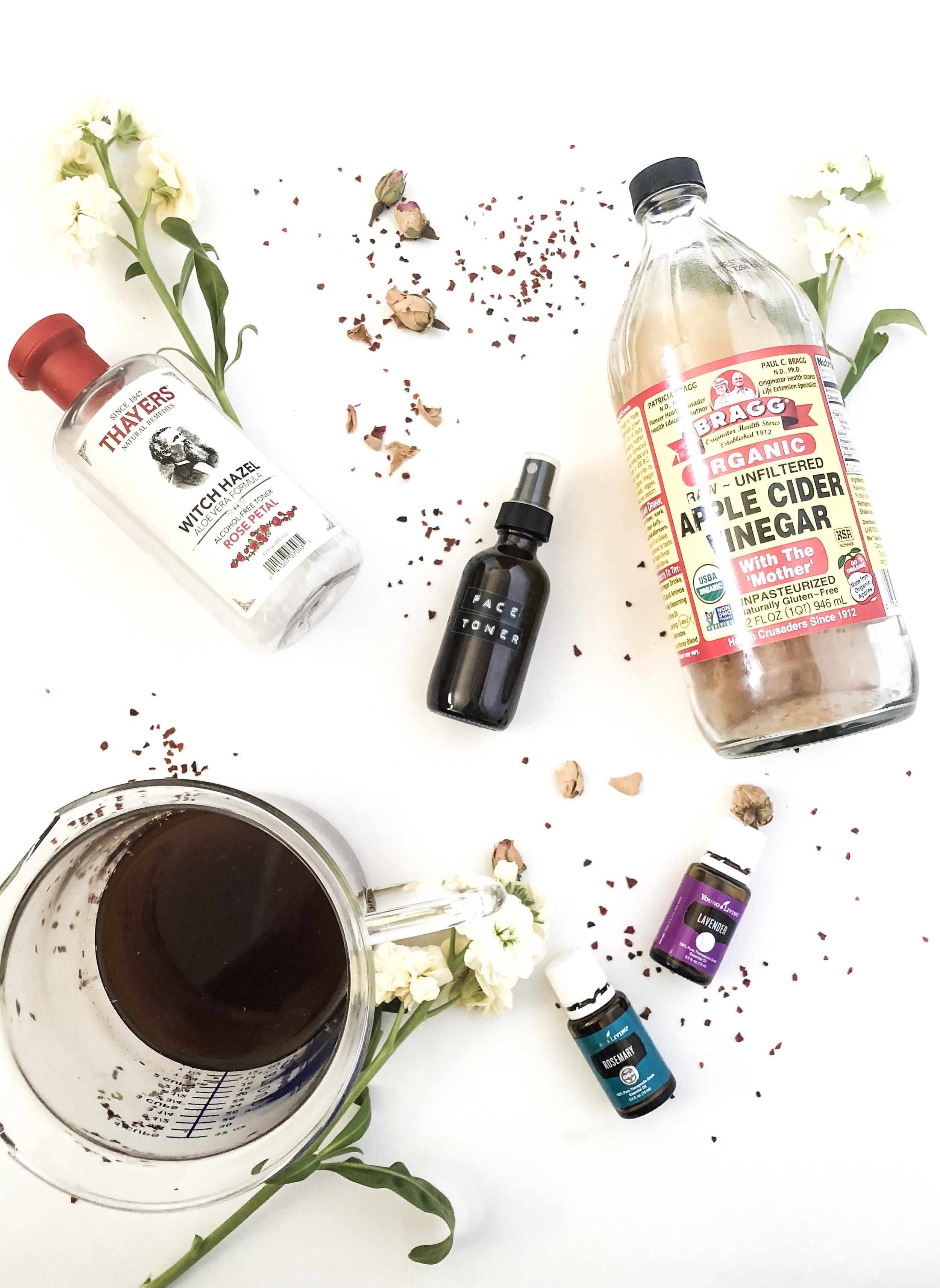 Herbal Face Toner Mist -