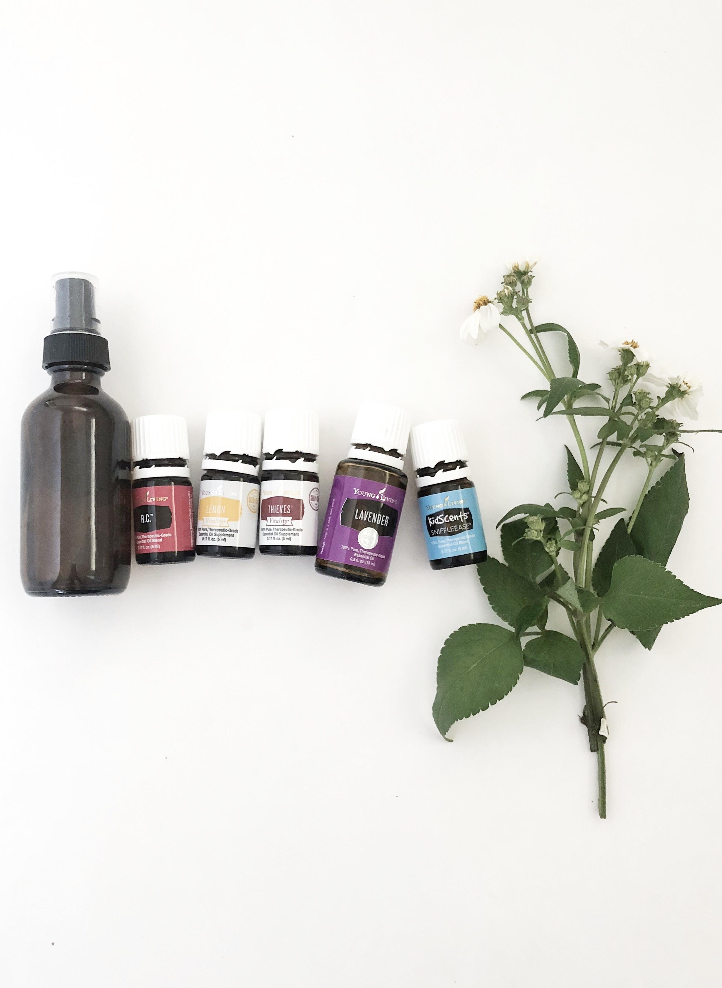 immunity boosting essential oils throat spray