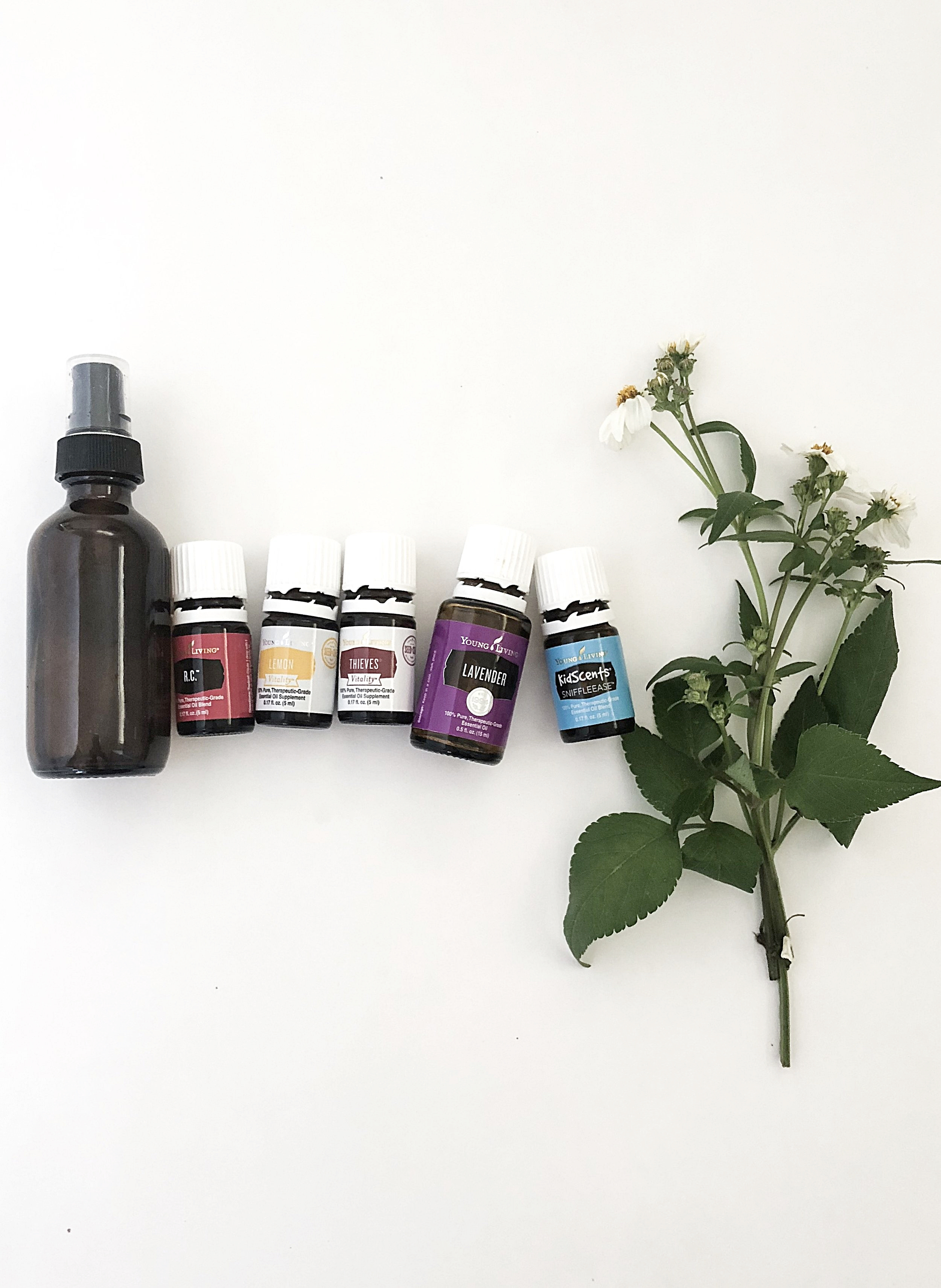 Immune Boosting Essential Oils & Throat Spray  -