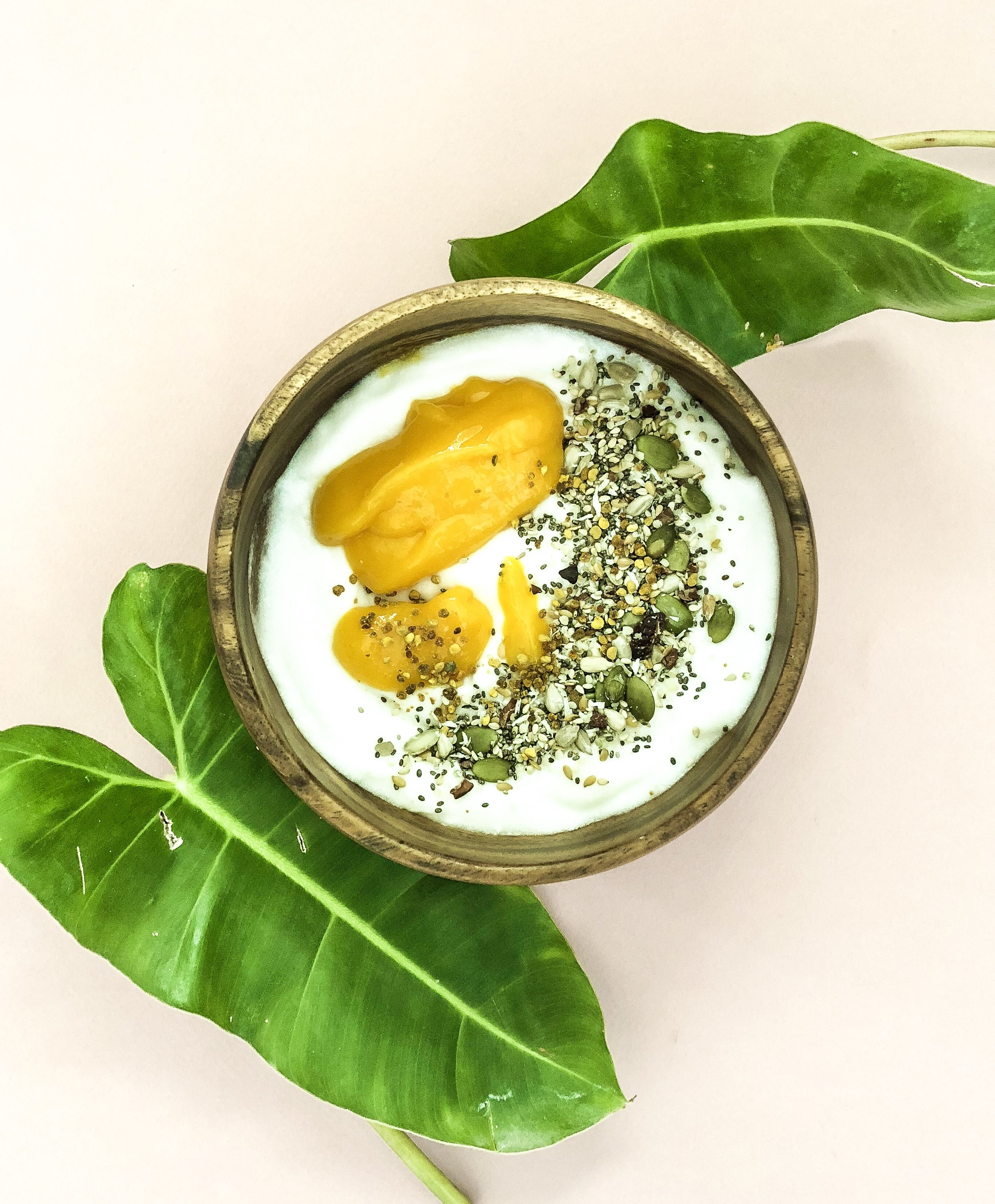 coconut yogurt with bee pollen and burcha 2.jpeg