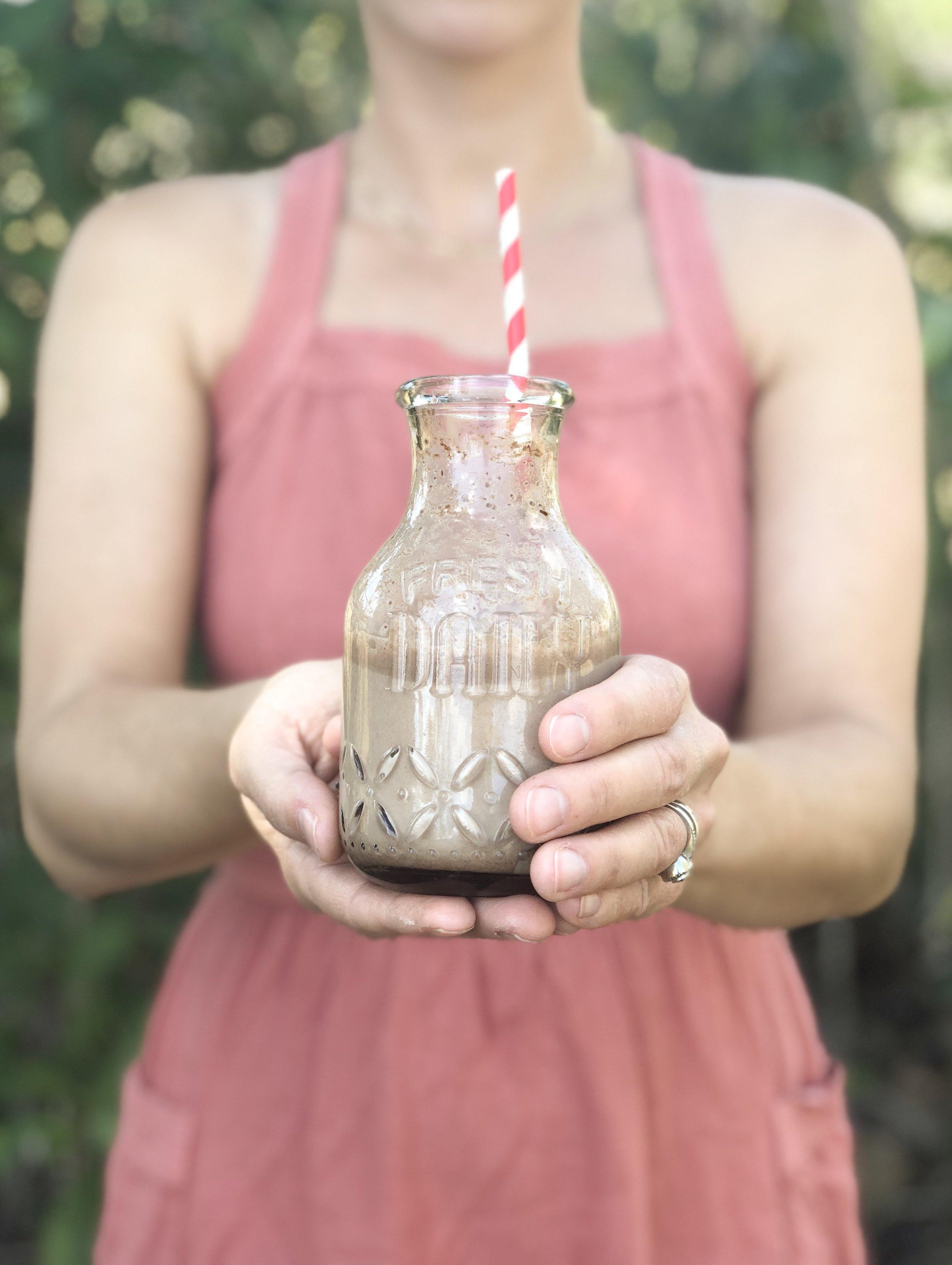 Adaptogenic Chocolate Milk -