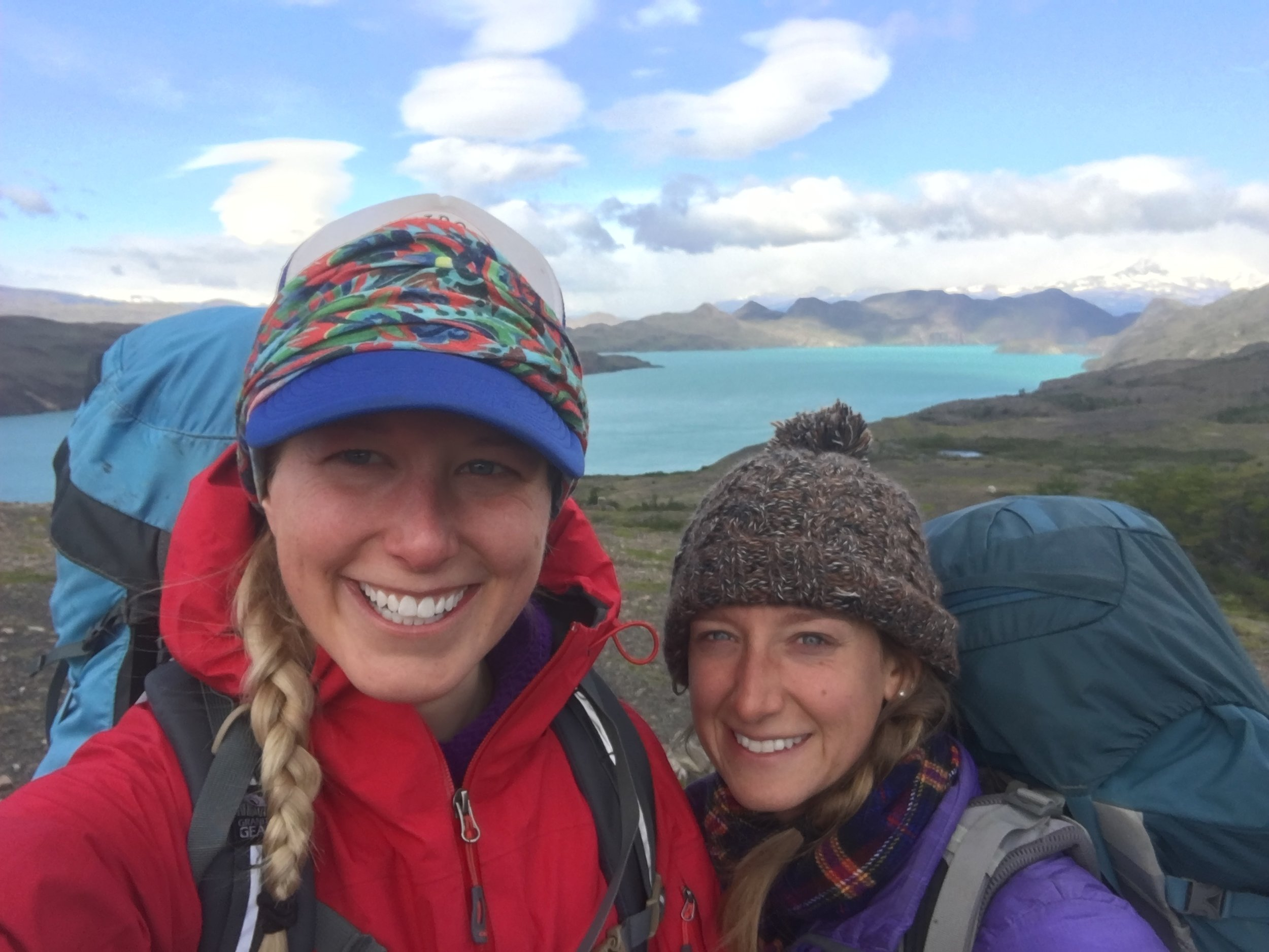 It's pretty windy in Patagonia turns out.