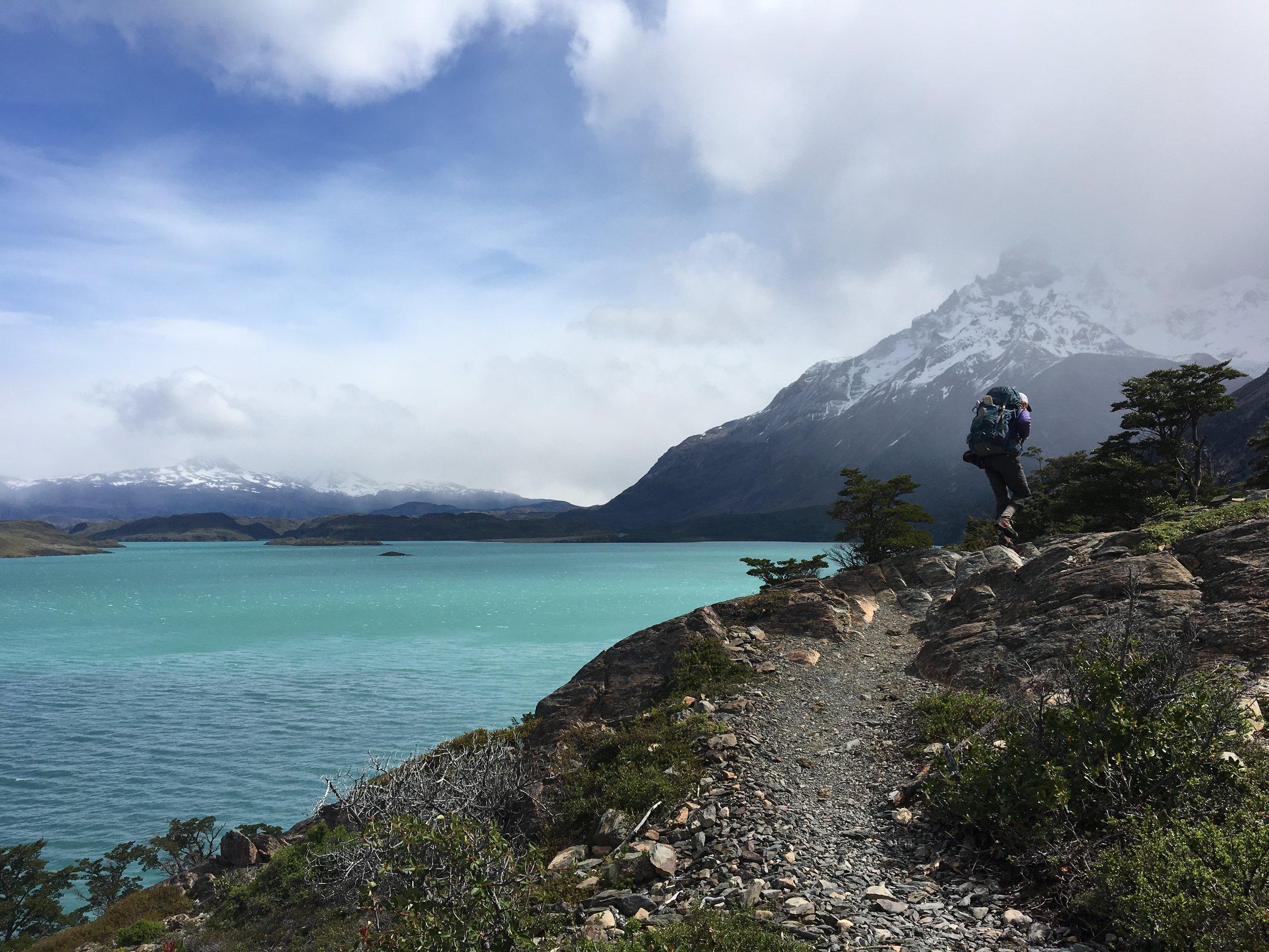 Just an average Patagonian lake.