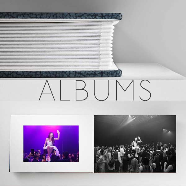 Albums, coffee table books & more!