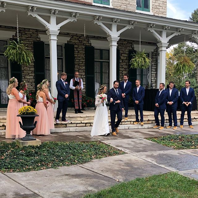 I got married this weekend and it was dope. Thanks to everyone from start to finish.