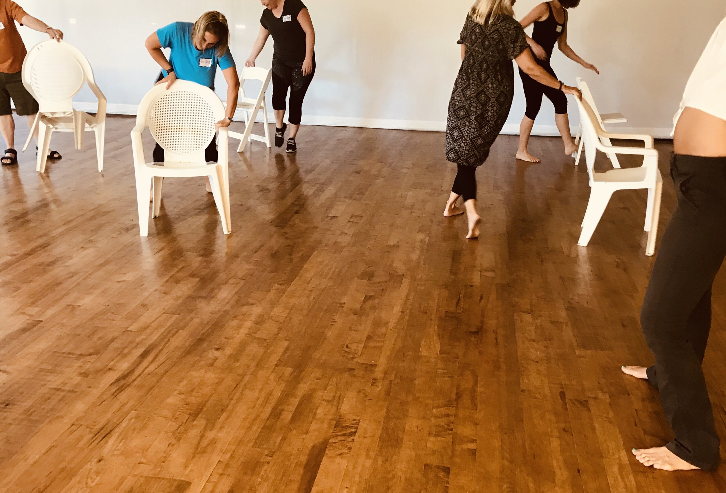Playful Movement with Chairs