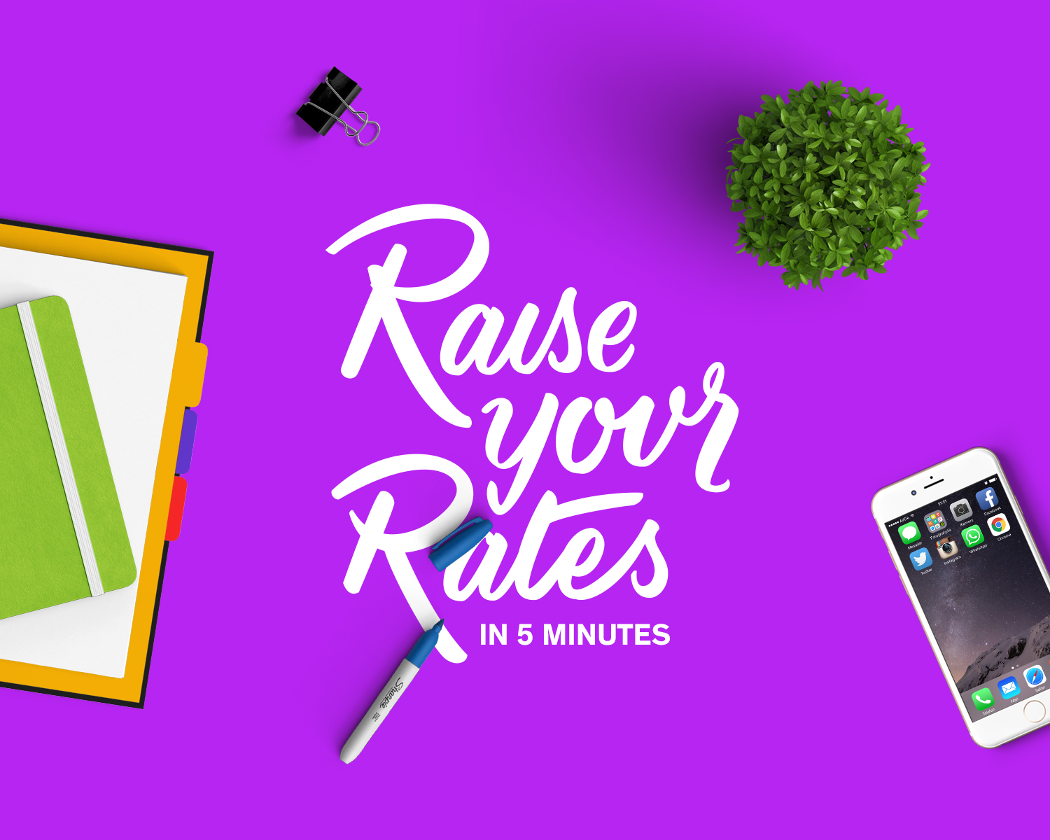 Raise Your Rates Cover.