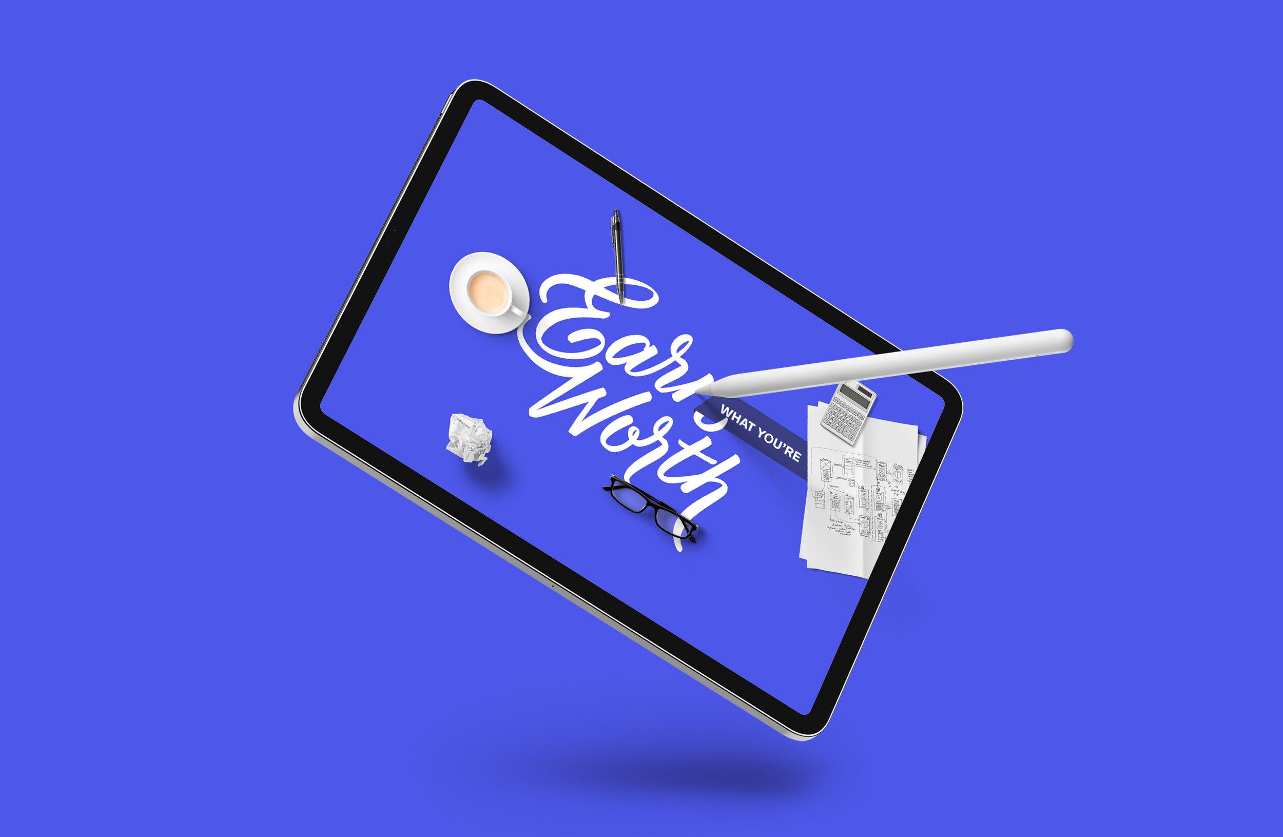 Earn What You're Worth – iPad