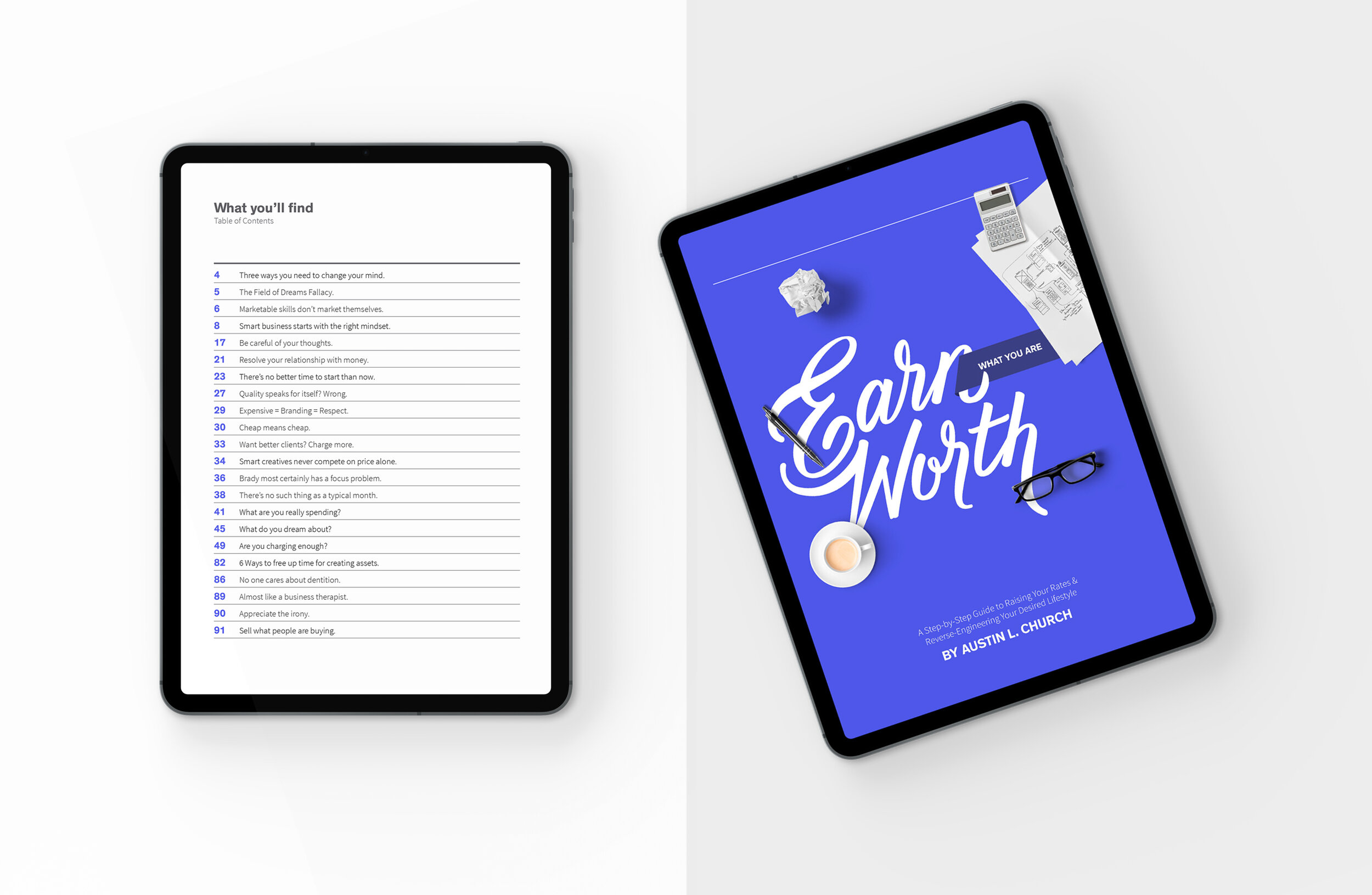 Earn What You're Worth – Content