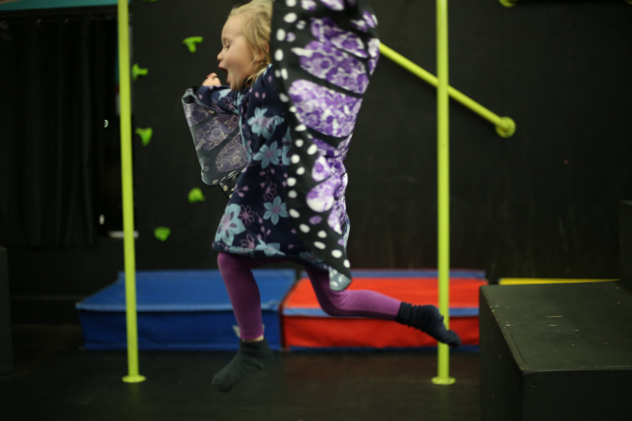 butterfly yoga for kids  Making movement and yoga fun for kids! Each child will get to use a beautiful set of butterfly wings, and lots of dynamic movements with arms will make it seem like they are flying! Great for fitness, body awareness, flexibility & strength.