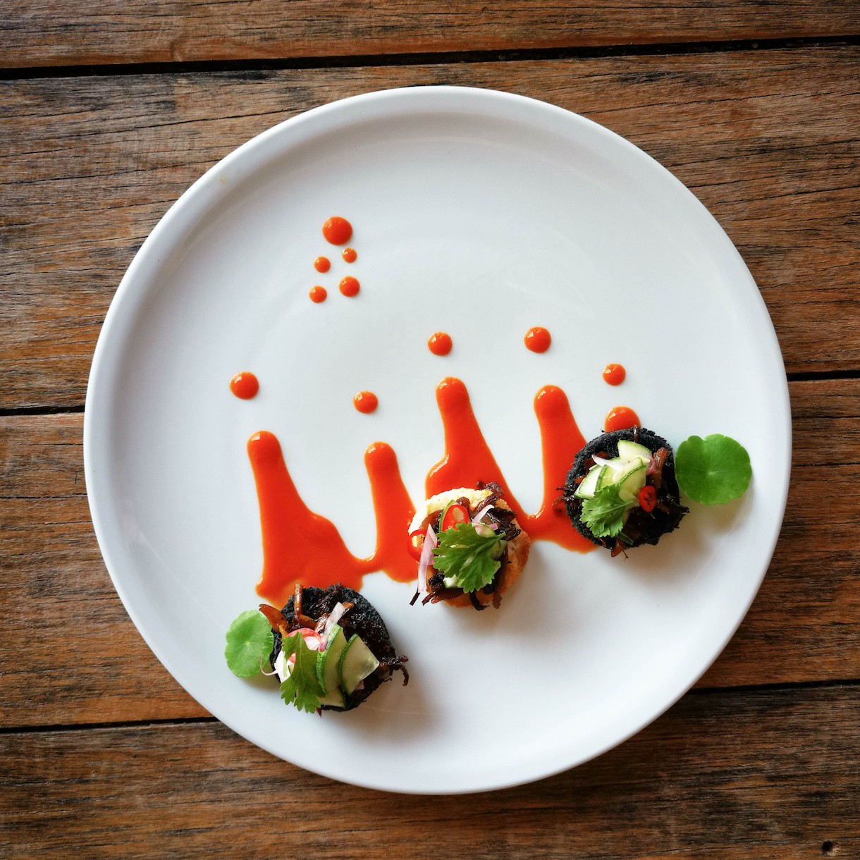 Spicy bites — Chef's Training — Blue Lotus Hua Hin