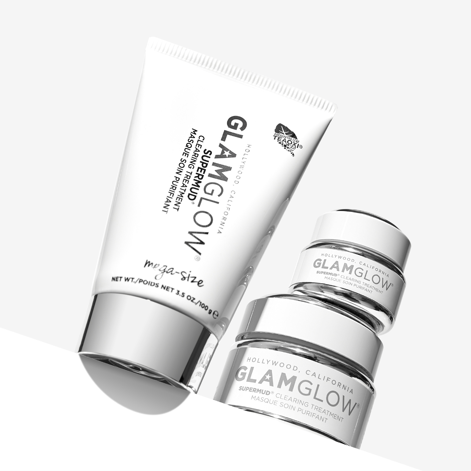 GET GLOWING WITH GLAMGLOW    BECAUSE IT'S NEVER BEEN SO CLEAR HOW TO GET SO CLEAN.