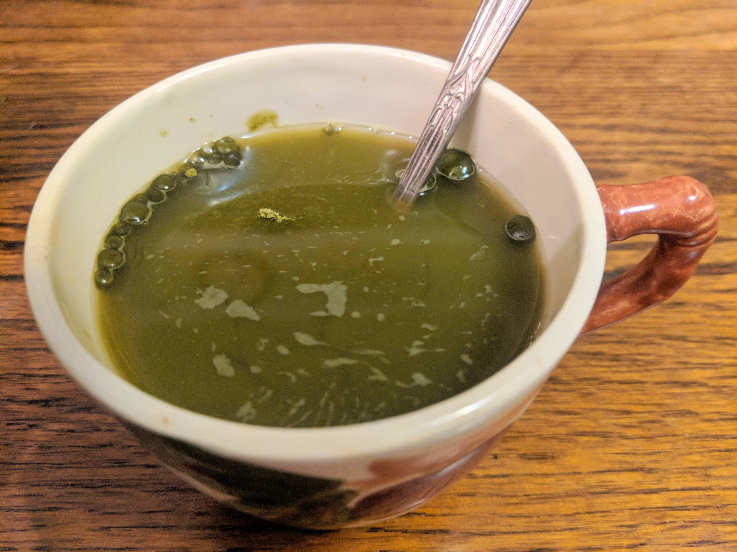 Matcha - Powdered green tea leaves increases absorption and is easy to put into everything.