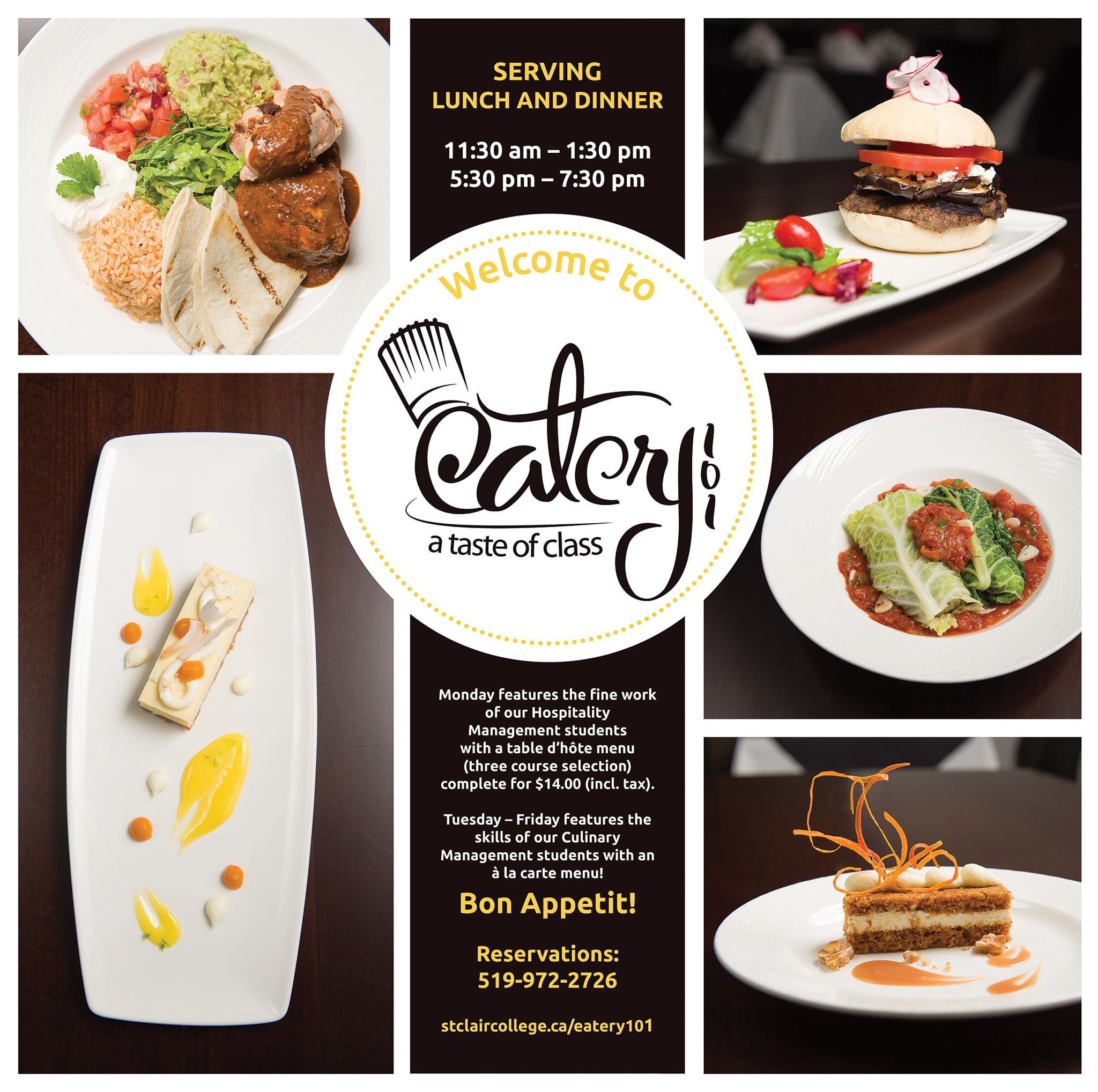 Eatery 101