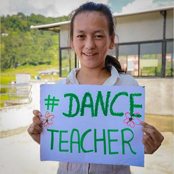 My dream to be a dance teacher