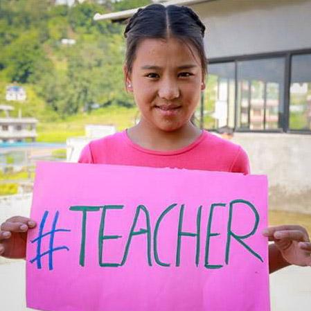 My dream to be a teacher