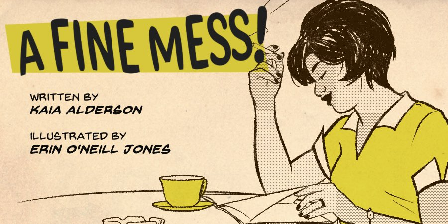 A Fine Mess - A dark comedy about a housewife who has had enough.Read Comic
