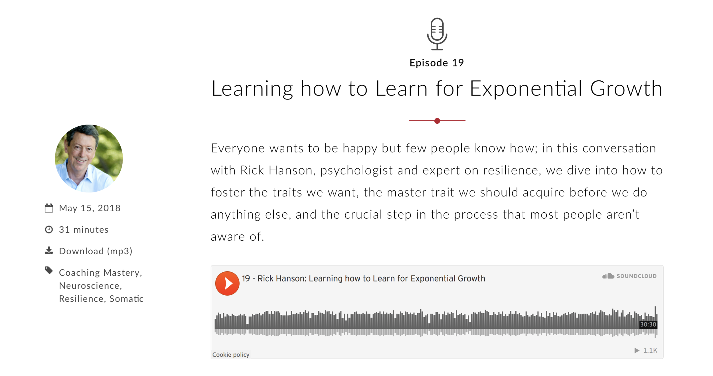 Learning How to Learn for Exponential Growth | Coaches Rising Podcast with Rick Hanson