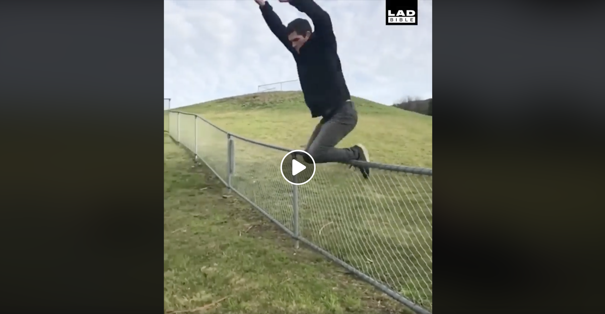 Cool Ways to Get Over a Fence
