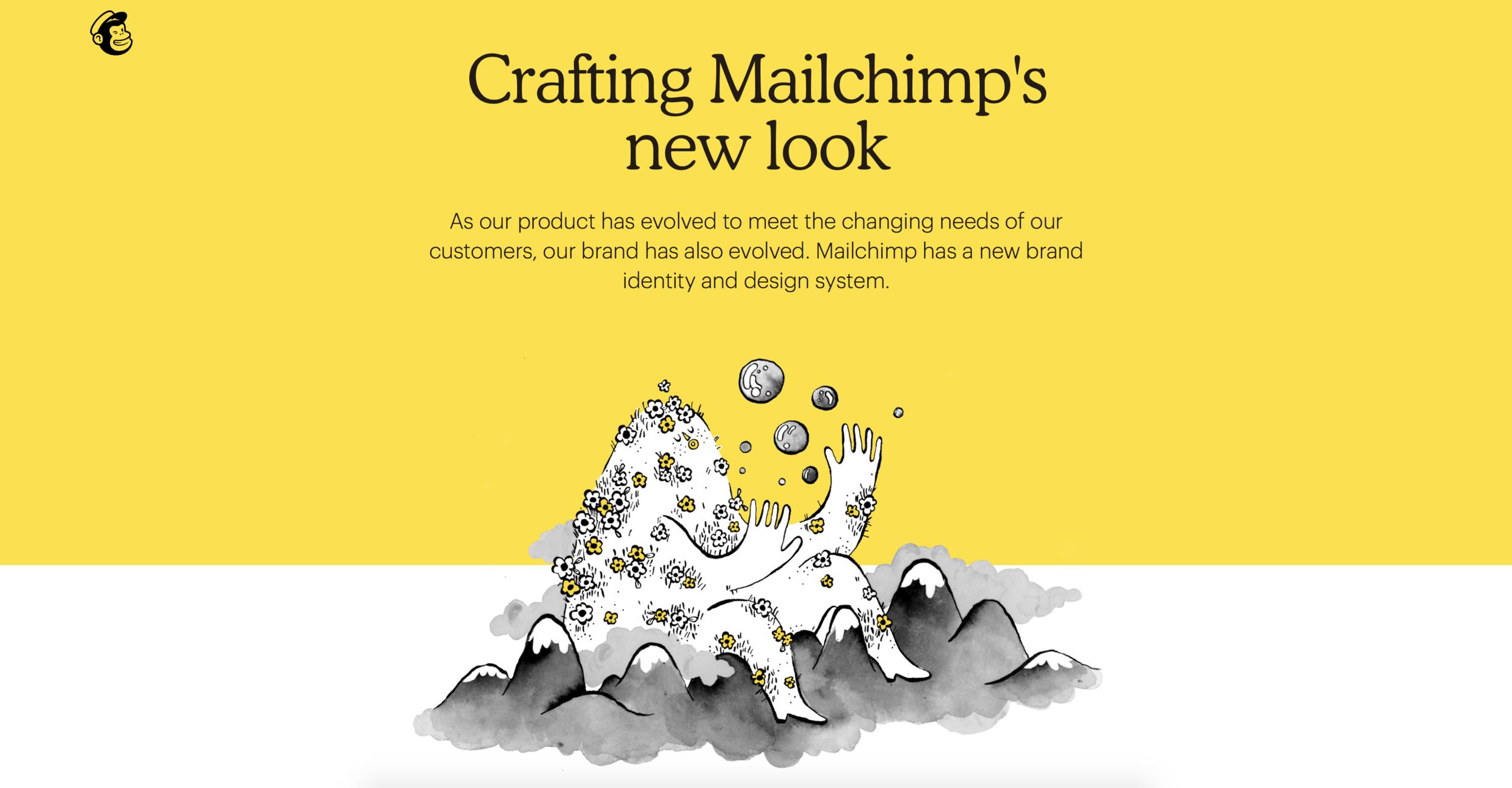 Mailchimp Design | Crafting Mailchimp's New Look