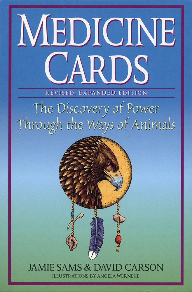 Medicine Cards | The Discovery of Power Through the Ways of Animals | Jamie Sams + David Carson
