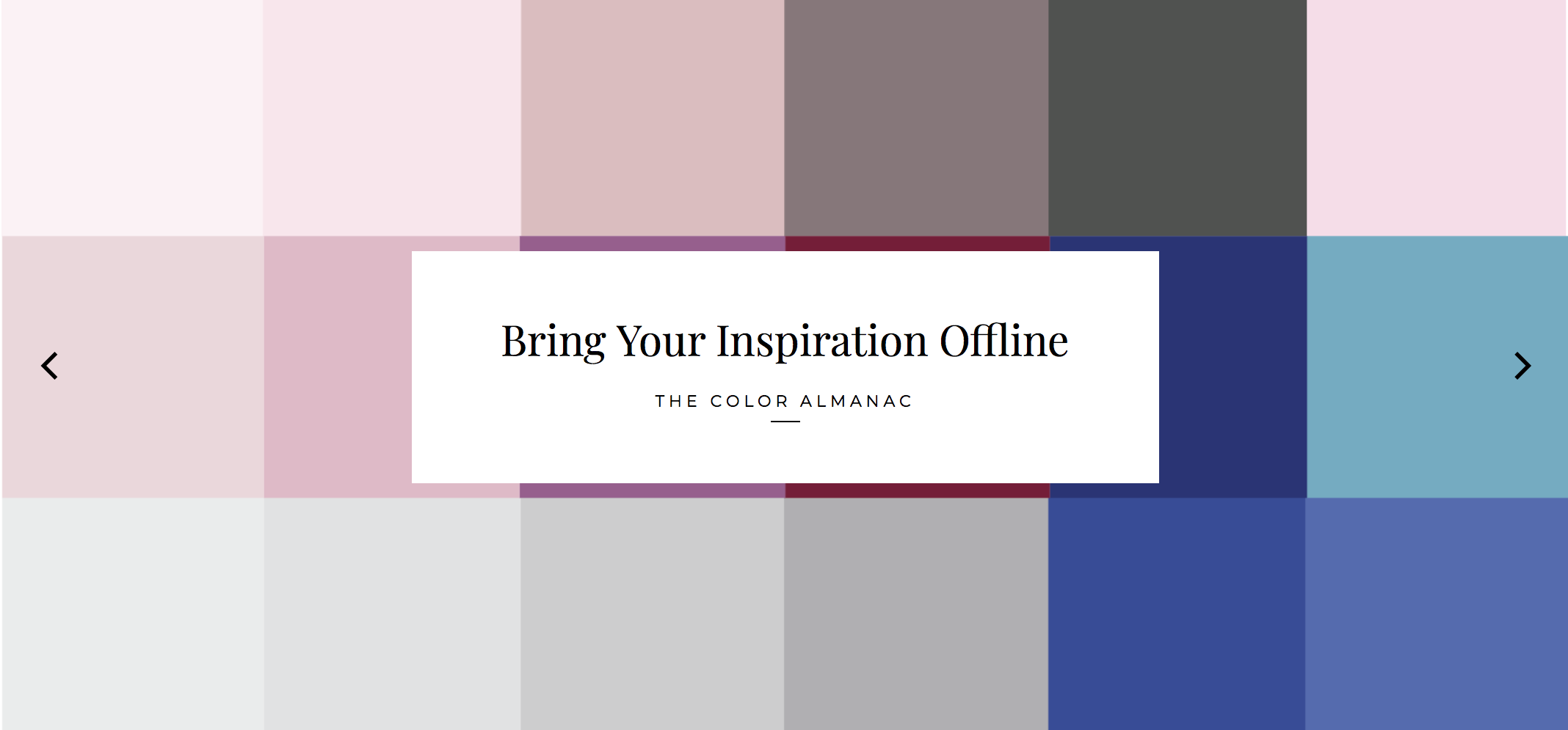 Design Seeds | Your Daily Dose of Inspiration & Color Palettes